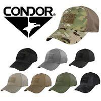 Condor 161080 Tactical Military Combat Flex Fitted Baseball Cap Hat ALL COLORS