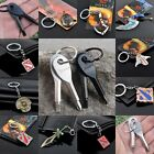 Wholesales Online games Valve Double Side Logo Metal Keychain Keyring Gift