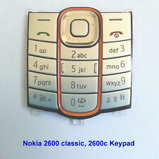 100% Genuine Original Nokia 2600 classic 2600c Keypad Fascia Housing - Silver