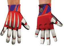 ADULT TRANSFORMERS OPTIMUS PRIME GLOVES COSTUME ACCESSORY DG73573