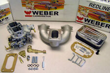 MG Midget Austin Healey Sprite 1958-1974 Weber conversion kit w/manifold-Genuine