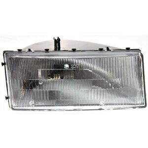 New Headlight (Passenger Side) for Plymouth Acclaim 1989 to 1995