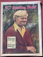 8-5-72 SPORTING NEWS JACK NICKLAUS ON THE COVER GOLF GOLFING BASEBALL