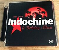 2x SACD HYBRID INDOCHINE LE BIRTHDAY ALBUM 1981-1996 COLLECTOR RARE 2004