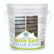 Wash Safe Industries Cedar Wash Eco Safe And Organic Wood Cleaner 10 Lb Cont