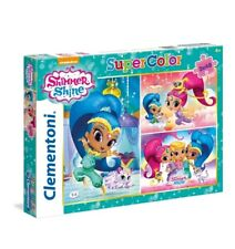 1 1D Shimmer And Shine Puzzle Clementoni 3 X 48 Piece Education Kids Happy Toy