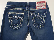 EUC - AS NEW - RRP $589 - Womens Stunning True Religion 'BILLY SUPER T' Jeans