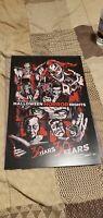 SIGNED 2020 Universal Studios Halloween Horror Nights Poster HHN Icons 30 years
