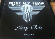 """FRAME BY FRAME Mary Rose 12"""" EP rare private press PRESS GANG MUSIC 1980s INDIE"""