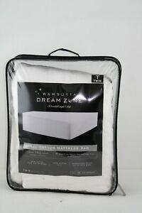 Wamsutta Dream Zone Twin All Cotton Mattress Pad
