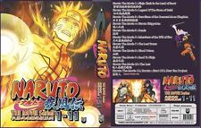 Anime DVD Naruto Complete 1 - 11 movies ENGLISH AUDIO Box Set - BRAND NEW SEALED