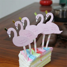 5pcs/set flamingo Cake Topper For Wedding Birthday Party Baby Shower SuppliesSC