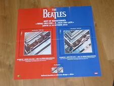 THE BEATLES - 1962 / 1970MEGA RARE FRENCH PROMO PRESS/KIT / POSTER!!!!!!!!