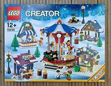 LEGO CREATOR 10235 WINTER VILLAGE MARKET 🎠 New & Sealed Christmas Carousel Set