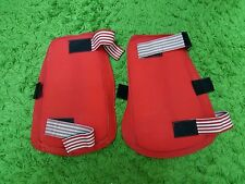 RED KNEE LEGS PROTECTION