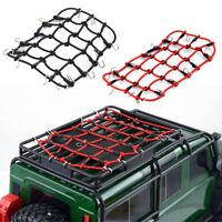 Elastic Luggage Net W/Hook for 1/10 SCX10 D90 TRX4 RC Truck Roof Rack