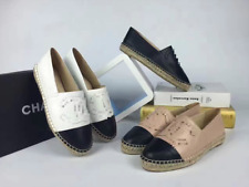New Ms. Weave Casual Leather Fisherman Sneakers Espadrilles Flat Shoes