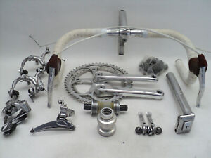 Vintage 80s SHIMANO 105 Golden Arrow groupset build kit gruppe EXC! dura ace 600