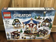 Lego Winter Village Market 10235 New in Box