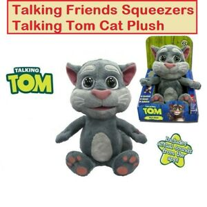 9'' Talking Tom Cat Plush Toy With Different Funny Voices BEST GIFT FOR KIDS