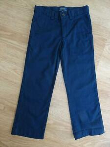 RALPH LAUREN POLO boys navy chino trousers AGE 3 - 4 YEARS 4T AUTHENTIC