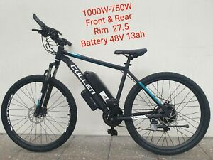 NEW EBIKE 1000W-750W with PEDAL ASSIST 27.5 Rim CULLEN VERSION 2
