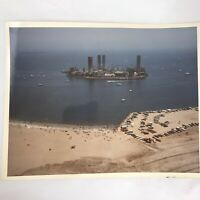 Vintage Astronaut Island Photograph, Long Beach California Harry Merrick