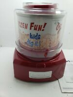 Cuisinart® ICE-21R, Automatic Ice Cream Sorbet Frozen Yogurt Maker, Red, FS