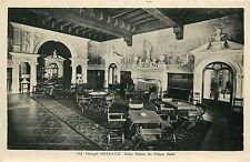 Portugal Bussaco Salao Nobre do Palace Hotel interior RPPC