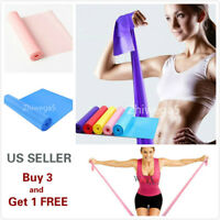 """5"""" Stretch Resistance Bands Exercise Pilates Yoga GYM Workout Physio Aerobic"""