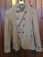 ASOS DOUBLE BREASTED WOOL COAT SIZE (M) BRAND NEW