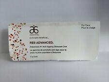 New Arbonne RE9 Advanced Anti-Aging Skin Care 7 X 3 ML Travel Size Set