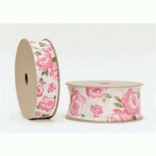 Single-Sided Unbranded Wire Edged 1-5 Craft Ribbon