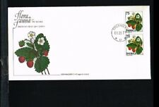 [FZ081] 1977 - Sweden FDC Mi. 998Do/Du - Flora - Fruits