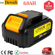 New 20 Volt For DEWALT DCB206 20V MAX 6.0Ah Lithium-Ion Battery DCB205 DCB204 US