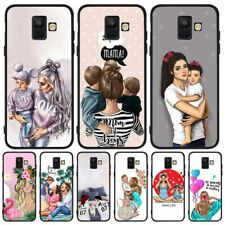 Mom Family Love Kids Silicon Case For Samsung Cute Mother Son Daughter Cover
