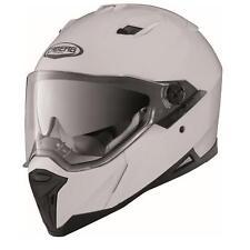 Caberg Integralhelm Stunt Weiß L Motorrad Helm Motorradhelm Klapphelm Schutz
