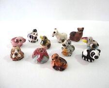 100 Mini Animal Peruvian Ceramic Bead Clay Mixed Model Handmade New Art Peru