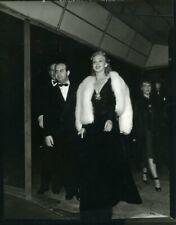 Carole Landis with date Matty Fox 3.92x5.01 Vintage B&W Photo