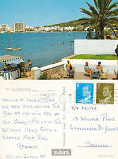 1980 SAN ANTONIO IBIZA SPAIN COLOUR POSTCARD