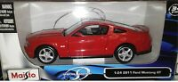 2011 Ford Mustang GT Coupe Die-cast Car 1:24 by Maisto 7.75 inch Red