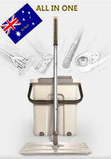 360-Flat-Mop-Free-Handwash-Clean-amp-Wash and Dry-off-Bucket AU