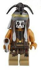 NEW LEGO DAN REID w/ ACCESSORIES MINIFIG Lone Ranger indian minifigure po tlr004