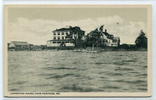 Langsford House Camp Porpoise Maine postcard