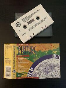 JACKMASTER - PHUTURE TRAX (RARE 1989 UK CASSETTE TAPE)