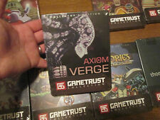 AXIOM VERGE PC COLLECTOR'S EDITION GAMETRUST INDIEBOX COLLECTION STEELBOOK