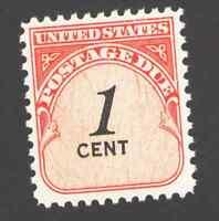 US. J89. 1c, Postage  Due Stamp, Dull Gum. MNH. 1959