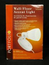 Portfolio Wall Floor Accent Light White Electric 145688