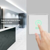 Touch sensor Door Exit push Release Button Switch with LED Light Indicator