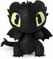 "Dreamworks Squeeze & Growl Toothless, 10"" Plush Dragon w/ Sound Hidden World"